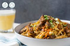 Yakisoba with Seared Beef Strips made easy. Discover Goodfood's Yakisoba with Seared Beef Strips meal kit delivery featuring farm-fresh ingredients. Beef Strips, Sauce Barbecue, Japchae, Make It Simple, Meals, Fresh, Ethnic Recipes, Food, Yakisoba Recipe