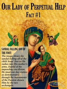 Our Lady of Perpetual Help Explained [Poster Sample] Click to see more at catholictothemax.com!
