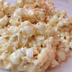 Marshmallow Caramel Popcorn...This popcorn turned out great for me. I melted butter, brown sugar and marshmallows together in the microwave, mixed evenly and then poured it over the popcorn!! It was delish!!!!