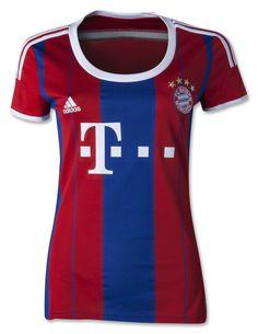 Bayern Munich 14/15 Women's Home Soccer Jersey