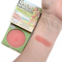 The Balm Balm Springs Blush Review || Beaudiction