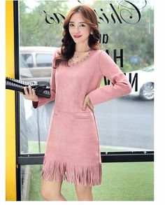 2016 new hot sale women's spring autumn long sleeve v-neck vintage one-piece…