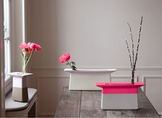 Stylish Ceramic and Lacquer Vases for Flower Ikebanas | Shelterness