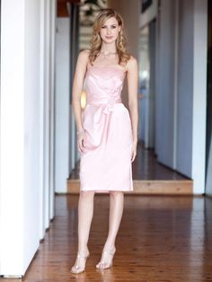26fe11881a Colour by Kenneth Winston Style 5040 Peach Bridesmaid Gowns