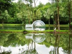 Bubble tent for camping under the stars :-).