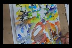 Ginette Callaway Painting Watercolor and Ink Deer & Fawn on Vimeo