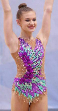 RG leotard close-up Gymnastic Bodies b73854b6916