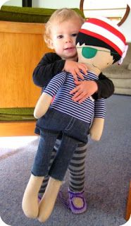 Large pirate doll // via Dee-Construction