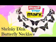 How to: Shrinky Dink Butterfly Necklace
