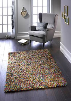 Rug that looks like jelly beans