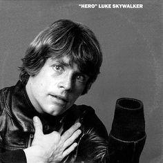 David Bowie Heroes / Star Wars Luke Skywalker (Mark Hamill) Mash Up Vinyl Record Art Print #davidbowie #bowie #heroes #starwars #thelastjedi #lastjedi #jedi #tshirt #mashup #photoshop #parody #albumcover #album #cover #lp #record #vinyl #scifi #nerd #music #movie #geek #lukeskywalker #hansolo #princessleia #r2d2 #c3po #darthvader #chewbacca #harrisonford #carriefisher #markhamill #daisyridley #johnboyega #whythelongplayface #whythelpface #redbubble #etsy