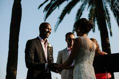 Wedding ceremony outdoor, Residence Cap Brun, Riviera, Toulon www.mariagedanslair.com