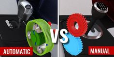 """We already know which one is supposed to be more """"fun"""", but what do the innards of manual and automatic transmissions look like? How do all the parts to together?"""