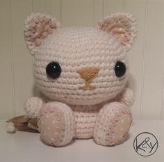 Missy, el bebé gatito - Patrón crochet amigurumi