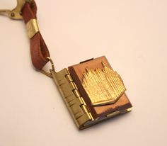 Vintage photograph picture book key chain or key ring. Mini book of pull out photos of Milan Italy. Souvenir via Etsy