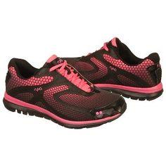 Athletics Ryka Women's Equation Black/Neon Pink FamousFootwear.com