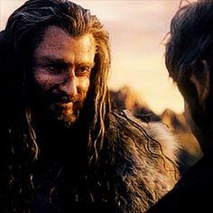 Thorin smile