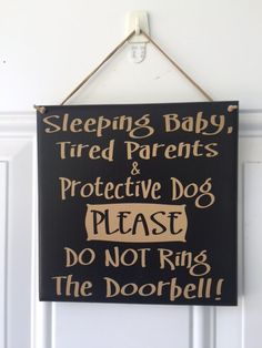 Sleeping baby tired parents protective dog by AgainstTheGrainLLC
