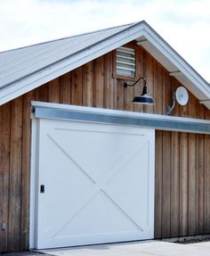 Sliding Barn Door Centsational Garage Shed Exterior
