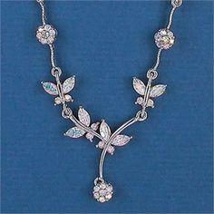 Butterfly Bridal Jewelry Set affordableelegancebridalcom