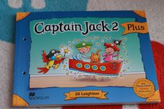 Little English Playground: Colours and counting pirates posters (Captain Jack...