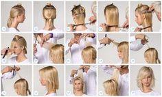 haarschnitt technik | Eighties Luxe - Felicia Haarschnitt (Hair Cuts Tutorial)