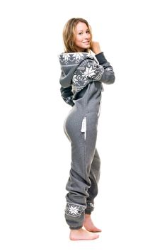 Hooded onesie pajamas. Now thats what Im talking about!! This looks sooo comfy!! http://v.downjackettoparea.com Cannadagoose JACKETS is on clearance sale, the world lowest price. --The best Christmas gift $169