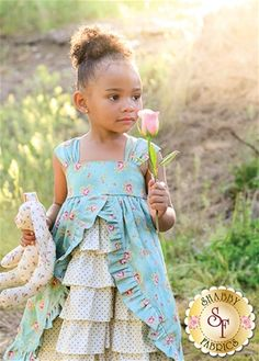 The Tea Party Dress Pattern: Tea Parties are such a lovely and imaginative event. Create this darling dress designed by The Handmaiden's Cottage for that precious little girl in your life and add a bit of whimsy to any Tea Party! Pattern includes sizes 6 months through size 8 with room to grow!