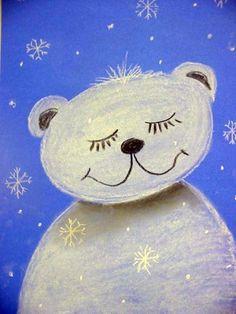 Adorable snow bear!
