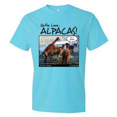 Gotta Love Alpacas: Mens Fine Cotton Jersey T-Shirt