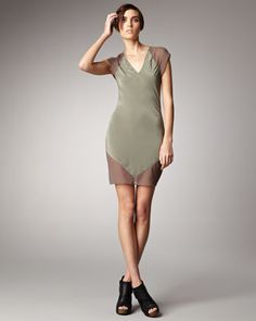 T by Alexander Wang Combo Sheath Dress | Reg. $285, Sale $99 + 25% = $74.25 | size S available