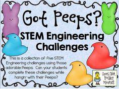 Peep Activities - STEM Challenges