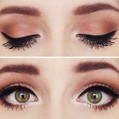Liquid black eye liner is a classic look that brides,'maids, and wedding guests can all incorporate in their makeup looks for any affair! #bridalbeauty #weddingmakeup #makeup