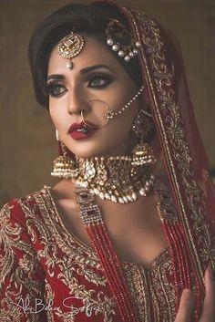 Makeup ideas asian eyes red lips 62 ideas Make-up ideen asiatische augen rote lippen 62 ideen Indian Bridal Makeup, Asian Bridal, Bridal Hair And Makeup, Hair Makeup, Desi Bride, Desi Wedding, Wedding Blog, Wedding Ideas, Pakistani Wedding Dresses