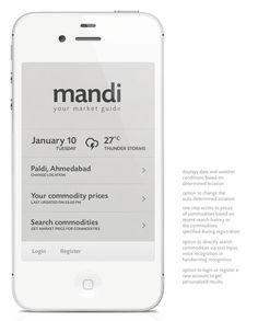 Mandi App | Simple UI