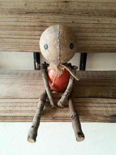 Handmade Sam Doll by MoodyVoodies on Etsy #artdoll #horrorcollector #horrorfan #trickrtreat #sam #art #artdoll