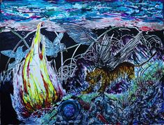 Sun Xun The Night of Time Vivarium, 2015 Courtesy of the Artist / ShangART Gallery, collection Kevin Chen