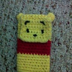 Winnie the pooh inspired phone cozy