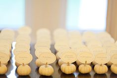 Fall Time Place Cards