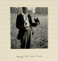 Terence Hanbury White. Photo from White's journal.