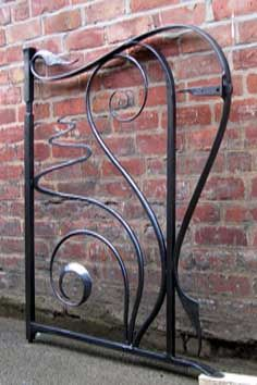 contemporary art nouveau gate