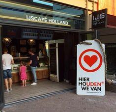 2015 | IJscafé Holland | label Hier houden we van