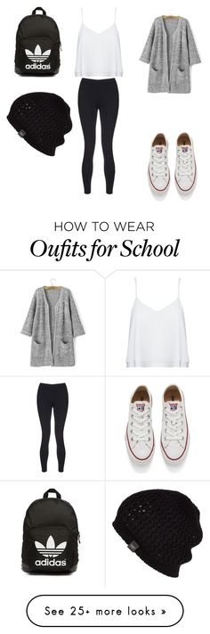 """SCHOOL UGH"" by haleyxreid on Polyvore featuring Alice + Olivia, Converse, adidas Originals, UGG Australia, Sweaty Betty, women's clothing, women, female, woman and misses"