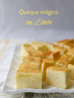 lemon-magic-cake Magic Custard Cake, Sweet Tarts, Sweet Recipes, Cake Recipes, Dessert Recipes, Desserts, Dessert Ideas, Internet, English Food