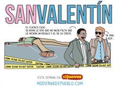 Moderna de Pueblo: san Valentín!