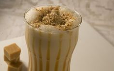 Receita de Milkshake de doce de leite.
