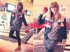 LET'S PLAY BOWLING ! (by Summer Crush ♥) http://lookbook.nu/look/4758937-LET-S-PLAY-BOWLING