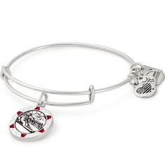 GRAPHICS /& MORE Christmas Holiday No L Noel Santa Happy Silver Plated Bracelet with Antiqued Charm