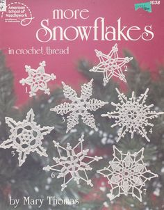 Snowflakes Crochet Patterns - Christmas Ornaments