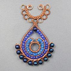 Peacock Palooza Pendant | JewelryLessons.com
